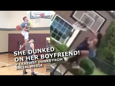 OMG! SHE DUNKED on HER BOYFRIEND! + Zaire Wade, Zion and the Best Dunks from Social Media's