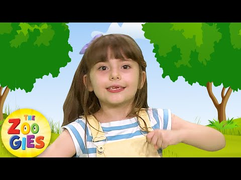 If You're Happy 😀 and You Know It Clap Your Hands | Nursery Rhymes & Baby Songs by Zouzounia TV
