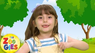 If You're Happy 😀 and You Know It Clap Your Hands | #ZouzouniaTV Nursery Rhymes & Kids Songs