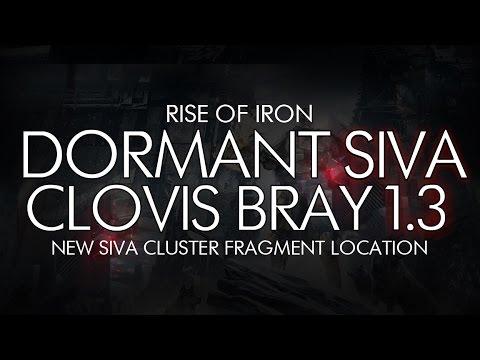 Destiny - Dormant SIVA: Clovis Bray 1.3 Location - Rise Of Iron DLC Dormant SIVA Cluster Location