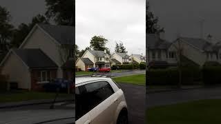 Arrivo dell'uragano Ophelia