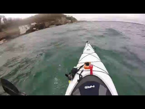 What happens when you get seasick on a kayak? (Graphic)