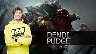 Dendi Pudge   Highlights Dota 2 MMR