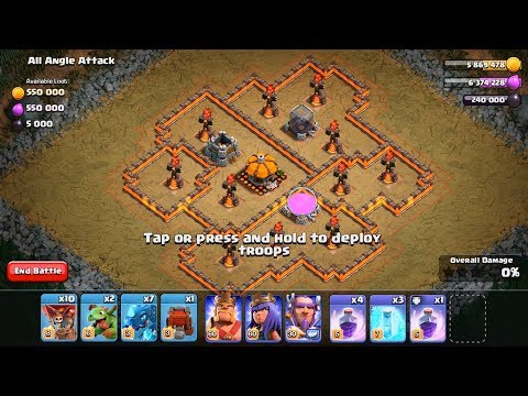 OVER 5 MILLION LOOT!?  New Goblin Maps #11-15   Clash of Clans