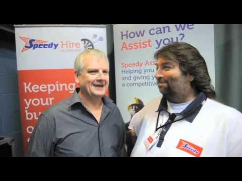Speedy Hire UK Open 2011 - Speedy Six! Rod Harrington talks to Andy Fordham!