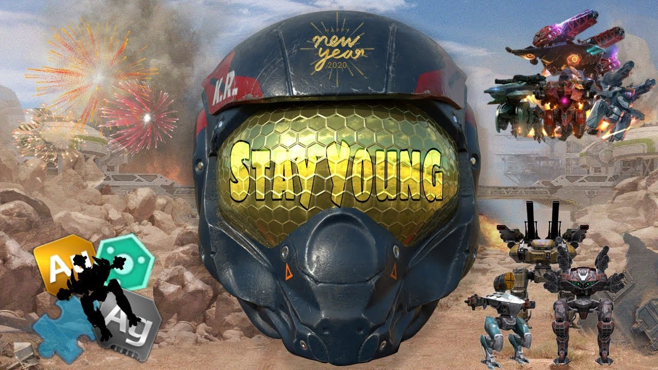 WAR ROBOTS/PAW PATROL GMV: STAY YOUNG
