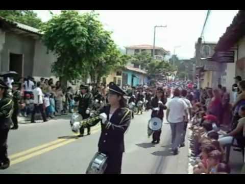 El Salvador Chalate - Desfile 15 de septiembre del 2009