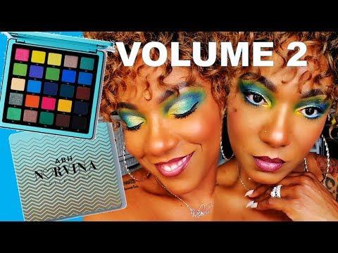 **NEW** NORVINA VOL 2 PRO PALETTE - Eye Look & Swatches thumbnail