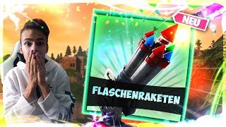 "Raketen sind da!🔥   Solo! 💪   1 Sieg = ""SALTO""⚡️  Live: Fortnite [Deutsch]🔴"