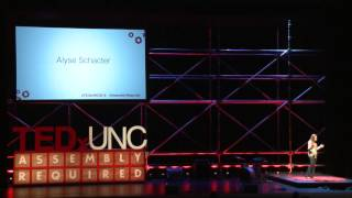The stigma of mental illness | Alyse Schacter | TEDxUNC