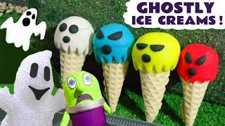 Learn Colors With Ghostly Play Doh Ice Cream Thomas The Train And The Funny Funlings Tt4u