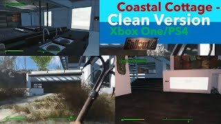 Fallout 4 Xbox One/PS4 Mods|Coastal Cottage - Clean Version