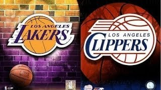NBA 08 - Clippers vs Lakers - PS3