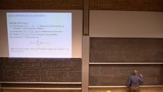 Peter Røgen Live Stream DTU 01025 Mat 2 for Matematik og Teknologi E2018, uge 8 del 2