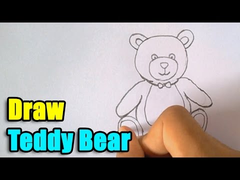 How To Draw Teddy Bear