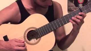Me Voy Enamorando - Introduccion - Guitarra - Tutorial - Chino Y Nacho ft. Farruko  (Remix)