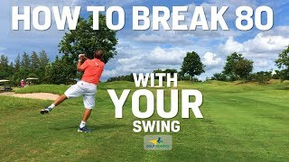How to Break 80 - Didi's Textbook Swing! LOVE YOUR SWING LOVE GOLF