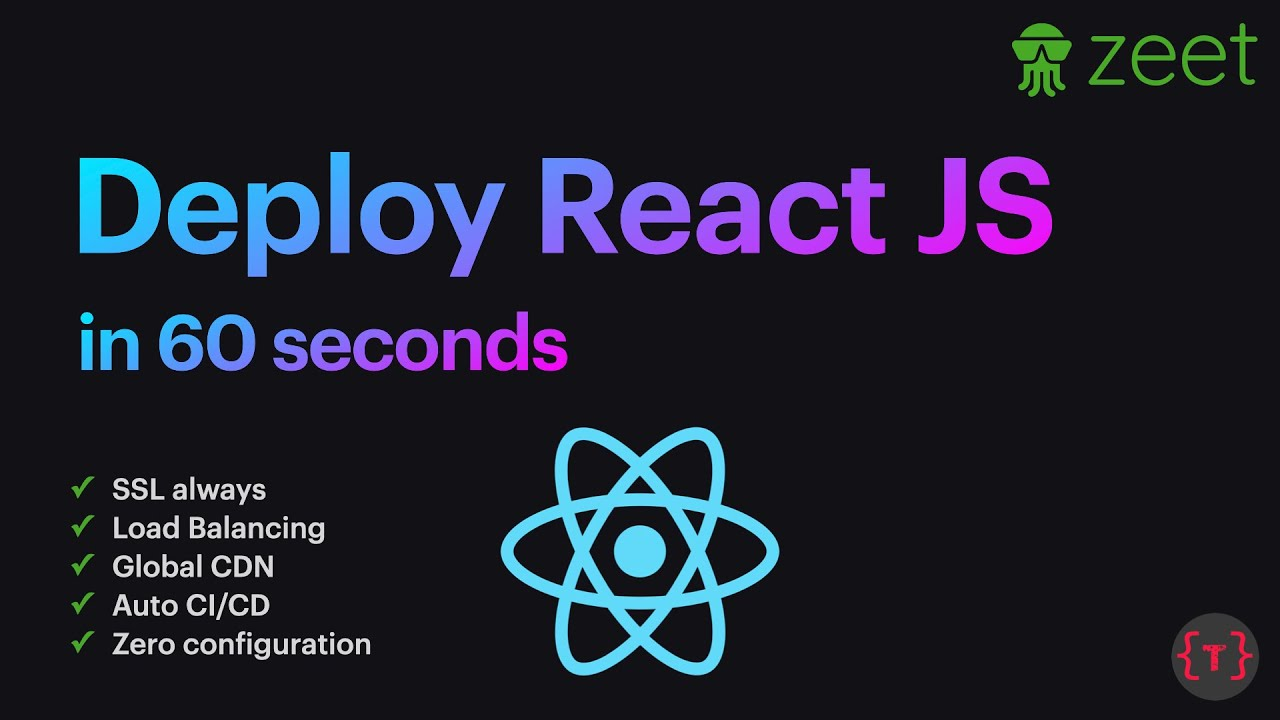 How to Deploy a ReactJs App (with SSL, Load Balancing, Auto CI/CD, etc.)