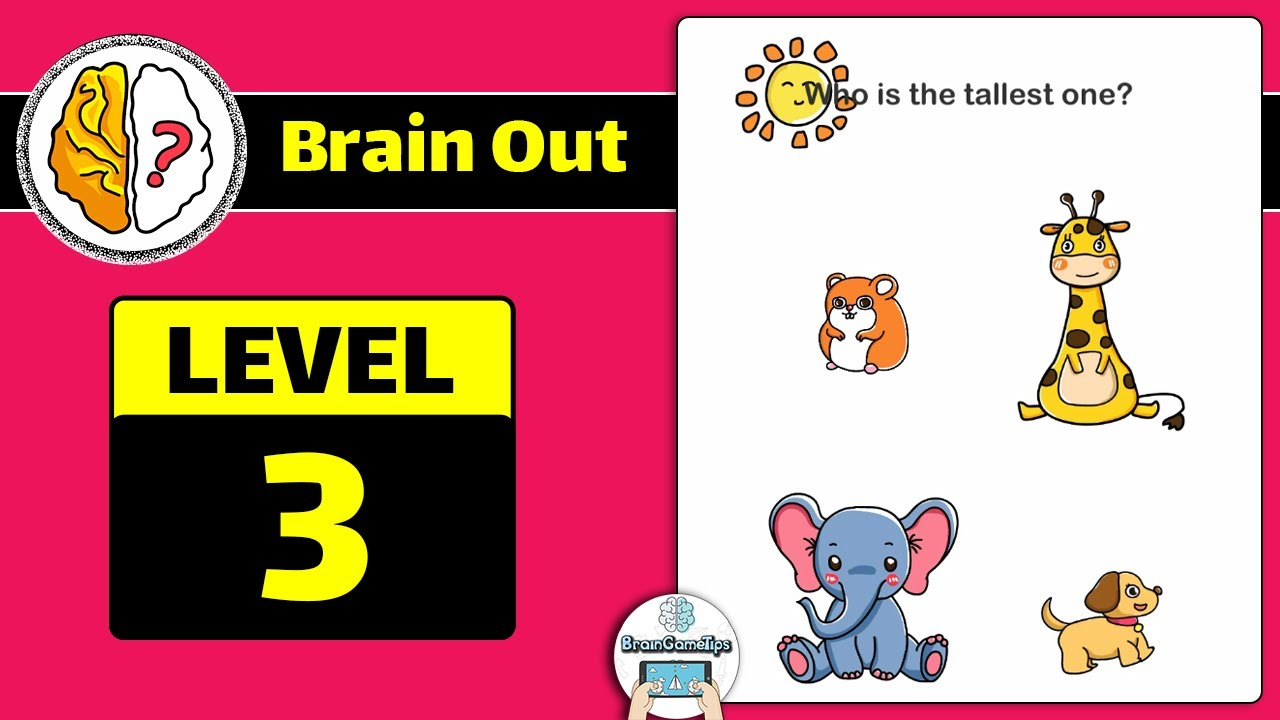 Brain Out Level 3 Updated Answer And Walkthrough Brain Level 3 Levels