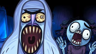 Troll Face Quest Horror Walkthrough All Level Win Fail Super Funny Best Moments Gameplay