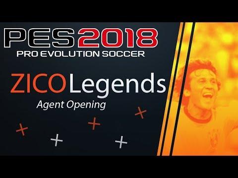 """Legends ZICO Agent Spins"" | Pro Evolution Soccer 2018 myClub"