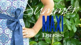 DIY Summer Maxi Dress Thumbnail