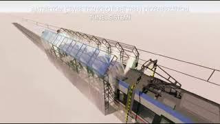 Tren Dezenfeksiyon Tünel Sistemi