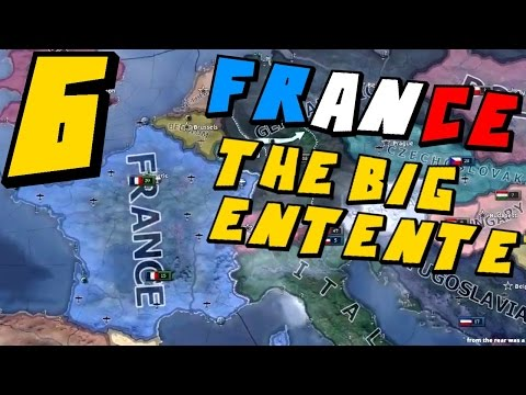 Hearts of Iron IV | France Big Entente Achievement Game #6