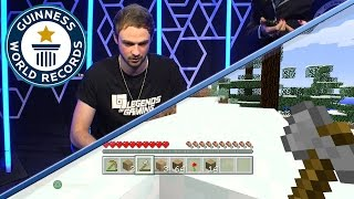 Ali-A's Minecraft Challenge: most wood collected - Guinness World Records