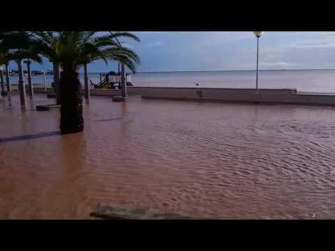 Flooding in La Ribera (Murcia-Spain)