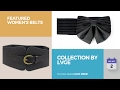 Collection By Lvge Featured Women's Belts