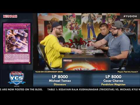 """YUGIOH"" - YCS San Diego 2017: Round 7 Feature Match"
