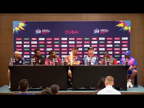ICC Men's T20 World Cup Qualifier Press Conference, Oct 2019