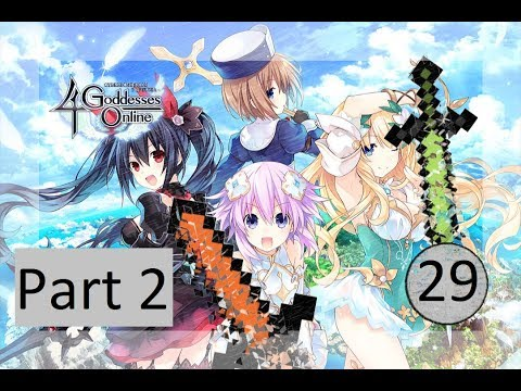 Cyberdimension Neptunia: 4 Goddesses Online #29: Part 2 THANKS FOR PLAYING |