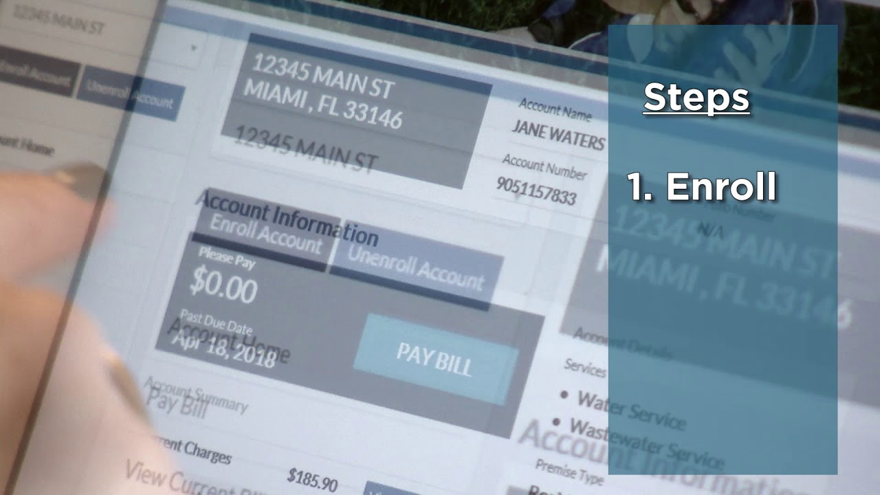 Paying Your Miami-Dade Water Bill Online
