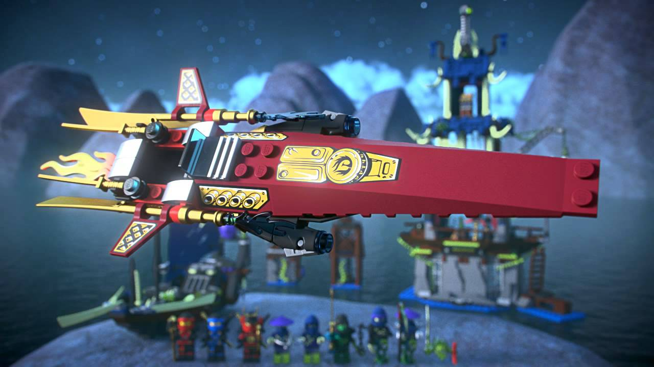 Lego Ninjago Chain Master Wrayth w// Weapon from 70732 City of Stiix 70736
