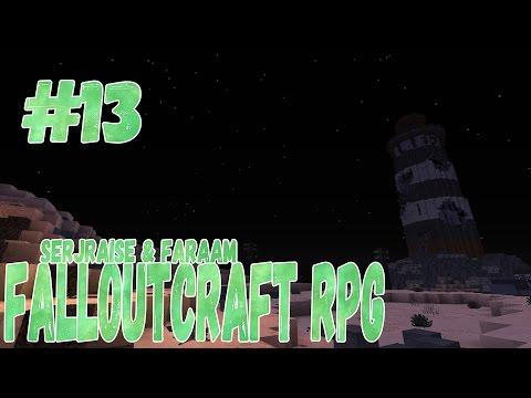 FalloutCraft RU RPG #13 [Туннель,Наркоман,Яо-гай,Вокзал,Босс Паук,Маяк]