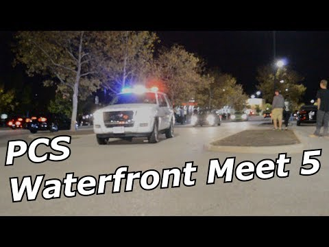 PCS Waterfront Meet 5 I Homestead Pennsylvania I feat. An overly dark parking lot