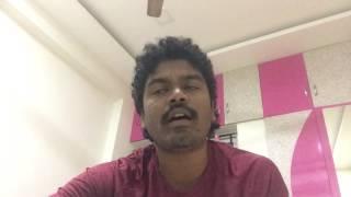 Adiga Adiga full song (cover with Karaoke) || Ninnu Kori movie || by Venna Vijay