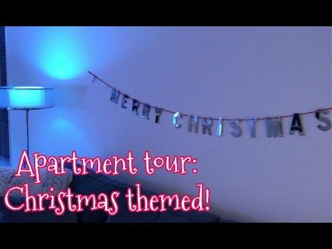APARTMENT TOUR : CHRISTMAS THEMED!  Jordan Byers