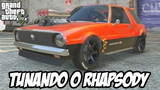 GTA V - Tunando o Declasse Rhapsody CARRO NOVO