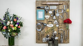 DIY Kitchen Heirloom Board - Home & Family