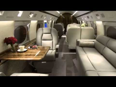 Luxury Private Jets Inside