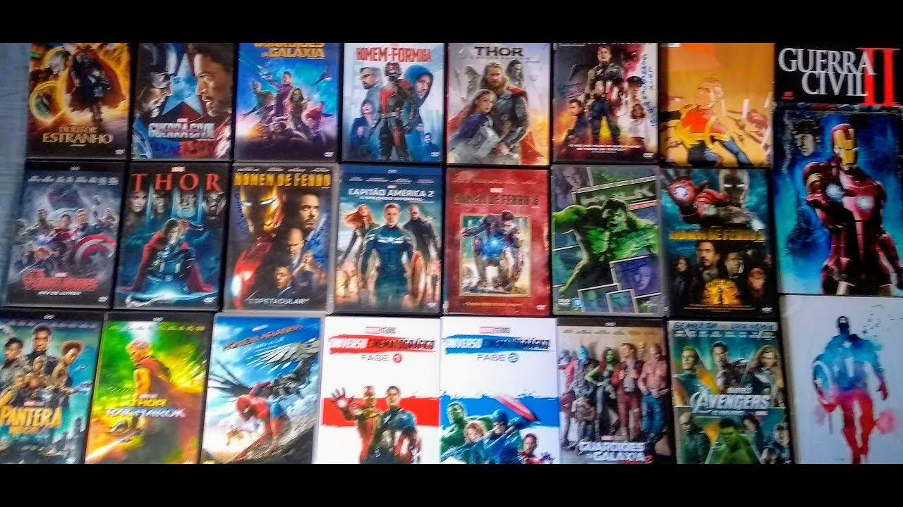 Universo Marvel em DVD ( COLEÇÃO COMPLETA/ ATUALIZADA ) 10 anos de MARVEL