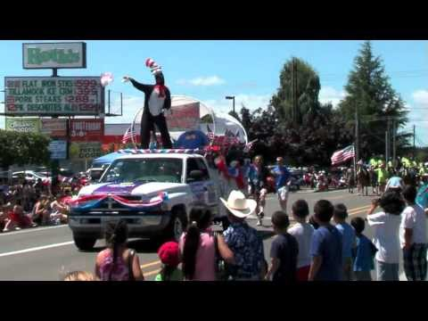 Independence Day Parade 2013 - Independence, Oregon