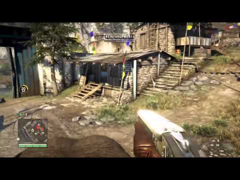 Gameplay de Far Cry 4 en PS4