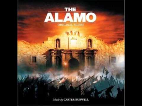 The Alamo Soundtrack #16  Deguello de Crockett