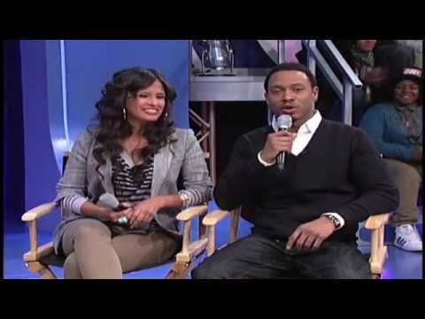 Tony Anderson talks to LGBT students on 106 & Park special