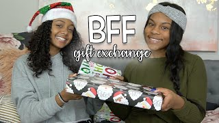 Does She Like Her Gift?  Bff Gift Exchange (she Cries)   Vlogmas Day 22