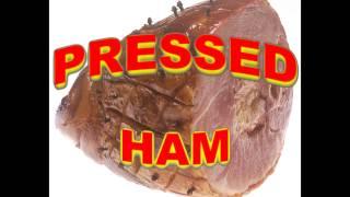 Pressed ham promo for MANCOW TV